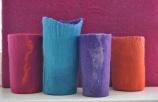Vasen aus Filz