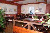 Blick auf die Empore, im Restaurant Dravendahl