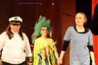 3 Darsteller der Aufführung
