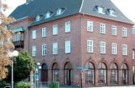 Hauptgebäude in der Bahnhofstraße in Rendsburg