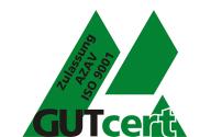 Siegel der Qualitätsmanagementzertifizierung nach