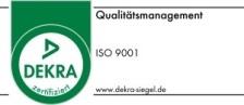 Dekra-Siegel Zertifizierung Metallbereich und Sozialer Dienst