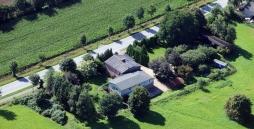 Hier ist die Wohngruppe Lohbarbek aus der Luft zu sehen