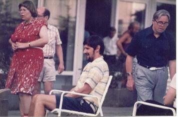 Spaß und Schabernack auf der Taunus-Freizeit 1975