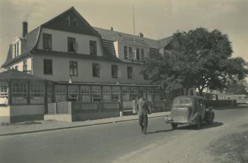 Das alte Strandhotel wurde zum Internat