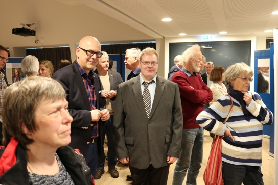 Torsten Albig und Peter Haarländer im Gespräch.