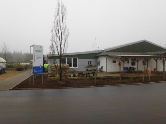 Aussenansicht des Heidehofes in Horstedt