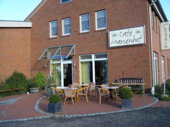 Cafe Außenbereich