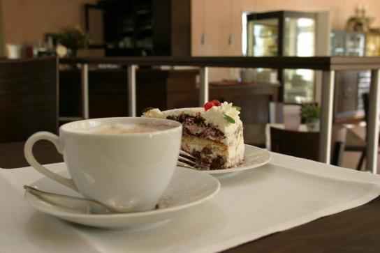 Kaffee mit Torte