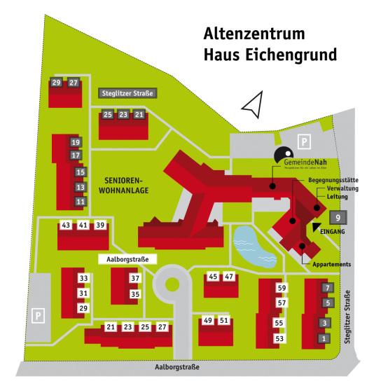 Büro GemeindeNah im Altenzentrum Haus Eichengrund