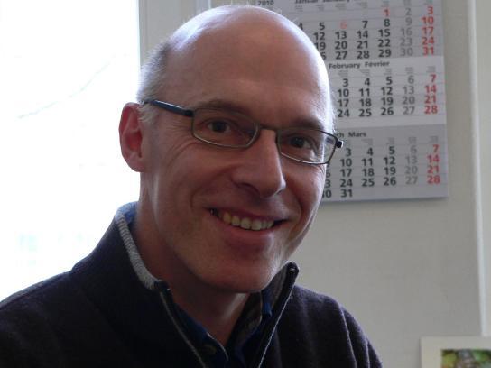 Dietmar Reichelt hofft, Gruppenleiter der EDV-Abte