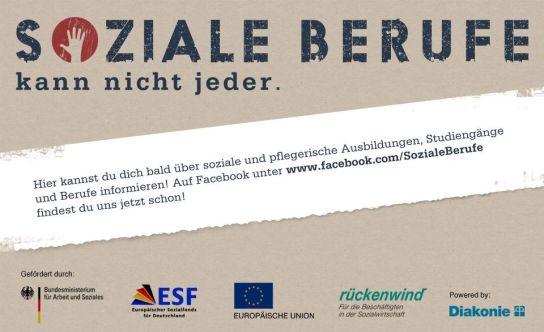 Informationen über soziale und pflegerische Ausbildungen, Studiengänge und Berufe. Schon jetzt unter www.facebook.com/SozialeBerufe