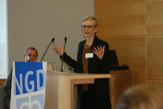 Dr. Petra Bahr am Rednerpult