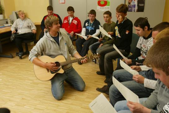Gemeinschaft erleben und Spaß haben in der Sing AG