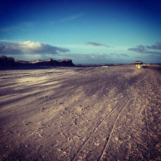 Ein schönes Bild vom Ordinger Strand