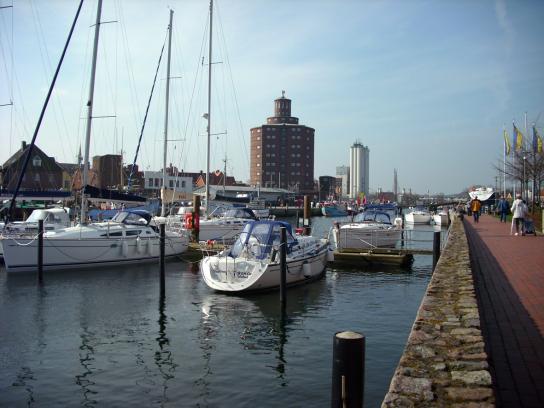Der Eckernförder Hafen