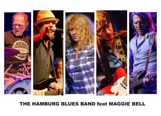 Bild: Zu sehen die Musiker der Hamburger Blues Band
