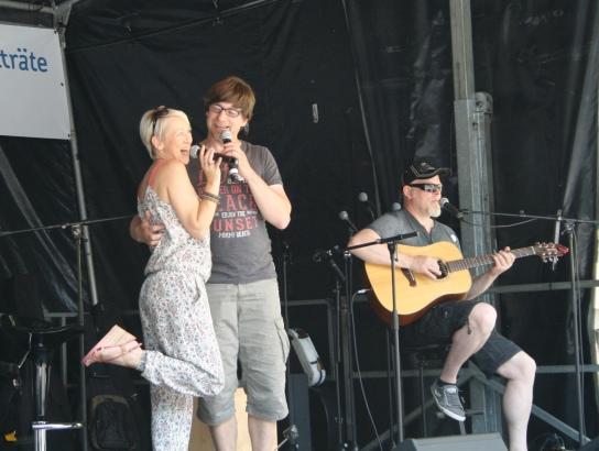 Die bekannte norddeutsche Band Godewind war Schirmherrin der Veranstaltung.
