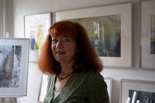 Ab dem 15. Mai zeigt die Künstlerin Heidemarie Utecht Arbeiten im café tagespost.