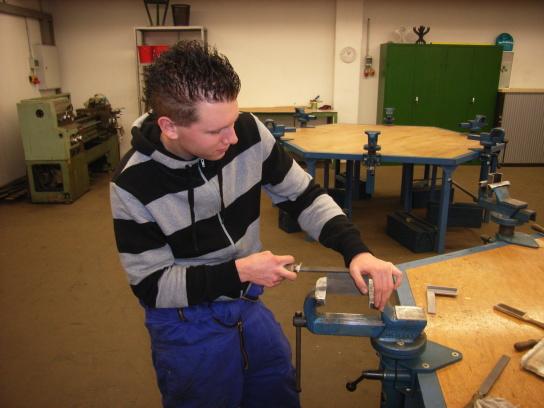 Arbeiten im Berufsfeld Metallbearbeitung