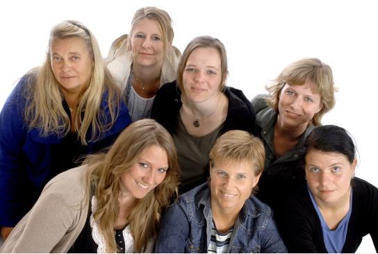 das Team unserer Frauen-Wohngruppe Luisenhof, Kiel