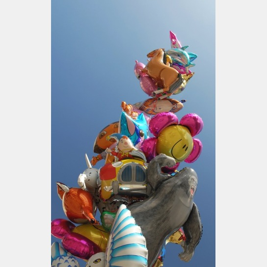 Blumenballons, Tierballons, Herzballons....Kunterb