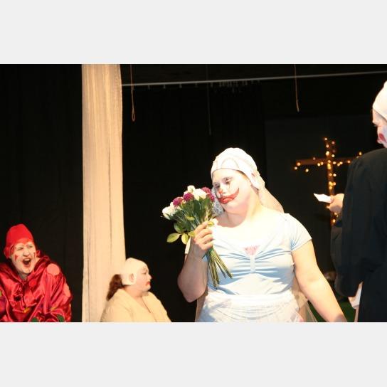1 Clown als Braut
