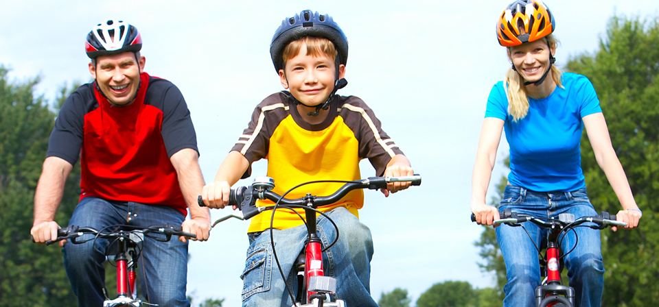 Fahrradverleih Eckernförde: Familienausflug auf d