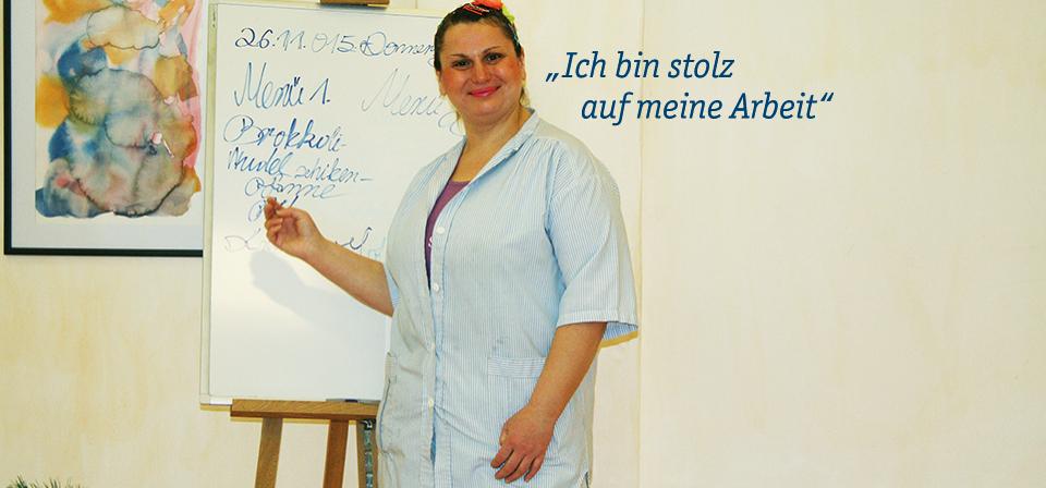 werkstätten materialhof | qualifizierung & arbeit | arbeit in den ... - Küche Arbeit