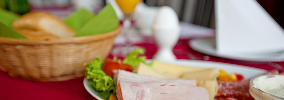 Service-Frühstück