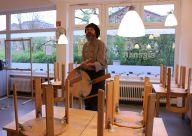 Blick ins Café