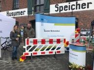 Lisa Hansen und Dieter Kurzke von den Husumer Werk
