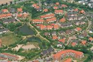 Eine Luftaufnahme vom Stadtteil Bickbüschen.