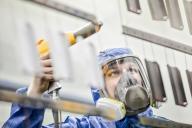 Unsere HOT-Pulverbeschichtung verfügt über eine moderne Produktionshalle.
