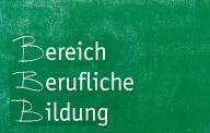 Tafelbild Bereich Berufliche Bildung