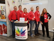 Die Auszubildenden und Ausbilder der Printaloo Gmb