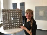 Die Künstlerin Rufina Schröter lädt am 5. Februar um 15:30 Uhr zur Vernissage ins café tagespost (Foto: P. Haase, Lübeck 2018)