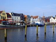 Die Kulisse des Husumer Hafens