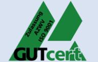 Zertifikat ISO 9001 und AZWV