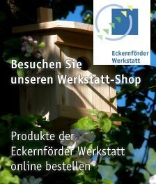 Besuchen Sie unseren Werkstatt-Shop. Produkte der Ecckernförder Werkstatt online bestellen.