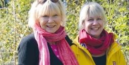 Marita Kahn und Dörthe Engellandt
