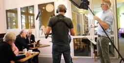 TV Aufnahmen im Materialhof