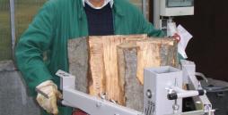 Am Holzspalter