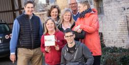 Das capito Team mit Jan-Henrik Schmidt, Kerrin Schöne, Anna Lang, Wolfgang Albrecht, Viola Pjede, Manuela Paulsen und René Philipps