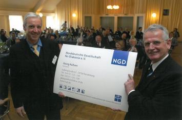 Georg Kallsen und Hans Valdorf bei der Ernennungsfeier