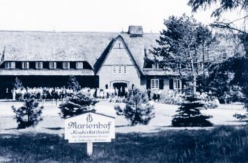 Eine der ersten Einrichtungen des evangelischen Hilfswerkes