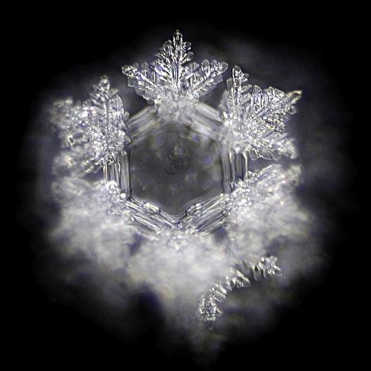 Der gut2-Wasserkristall in seiner symmetrischen St