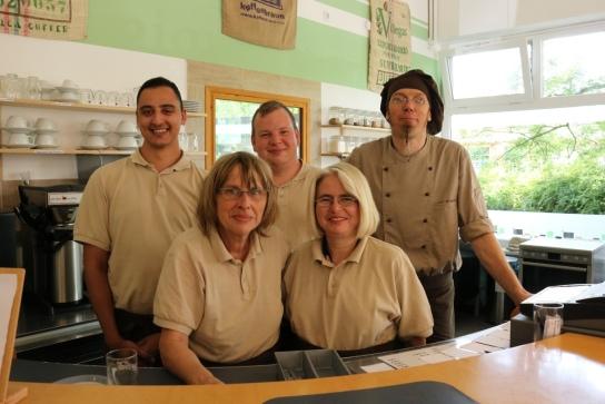 Das Team des Café Eigenart