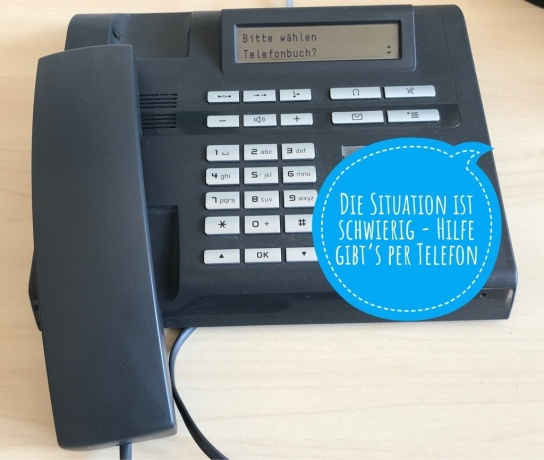 Telefon mit Infoblase