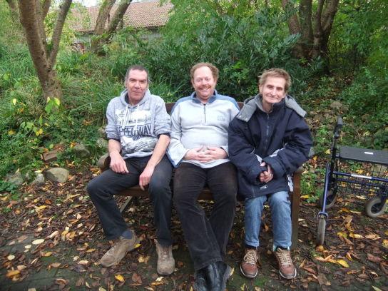 Drei der vier Beiratsmitglieder. Dieter Höft fehlt auf dem Bild